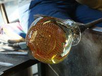 Lavorazione vetro artistico di Murano