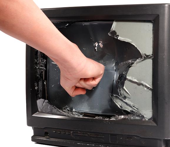 televisore-rottamato