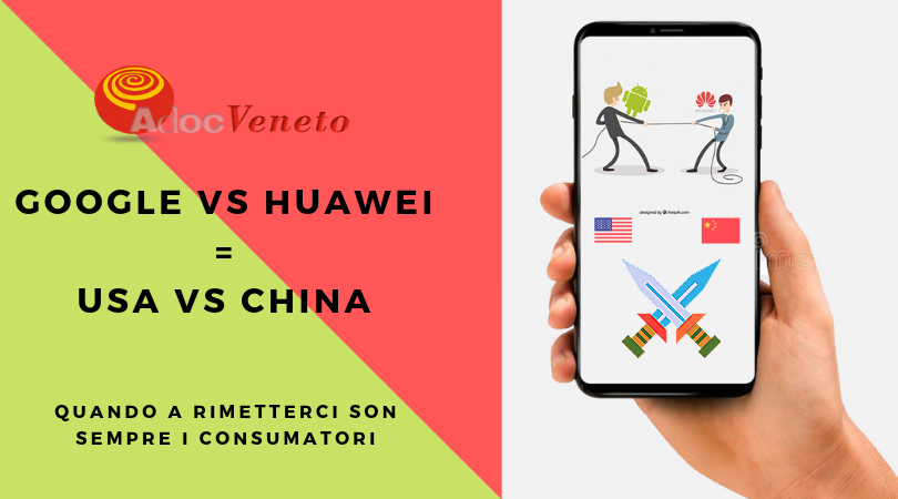 battaglia google android huawei, google ritira licenza huawei, niente android su huawei