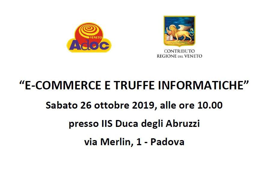 Ecommerce e truffe informatiche Padova