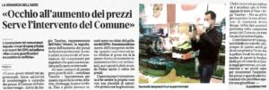articolo Mattino di Padova 5 aprile
