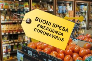 etichetta buoni spesa
