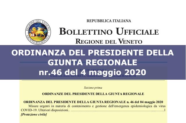 ordinanza regione 44 del 04 05 2020