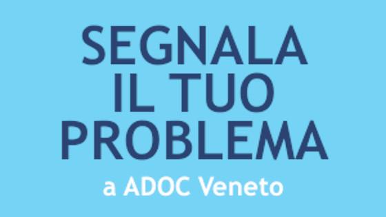 Segnala a Adoc il tuo problema
