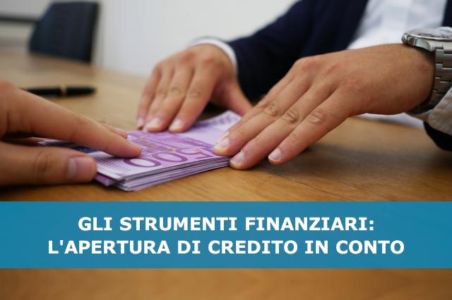 apertura di credito in conto corrente