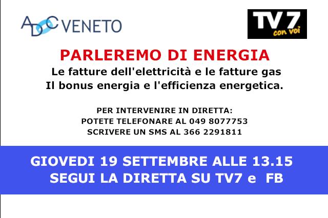 diretta tv7 energia